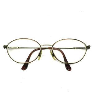 af8a89c536 Vintage Gucci Eyeglasses Frames Brown Gold Italy